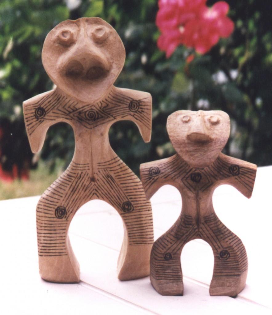 Jomon 1 et 2  2001 20x20
