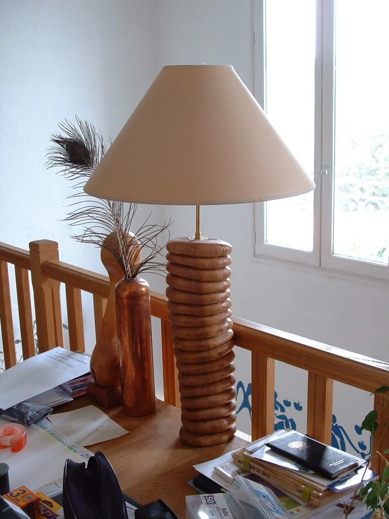 Pied de lampe 2002 60x15