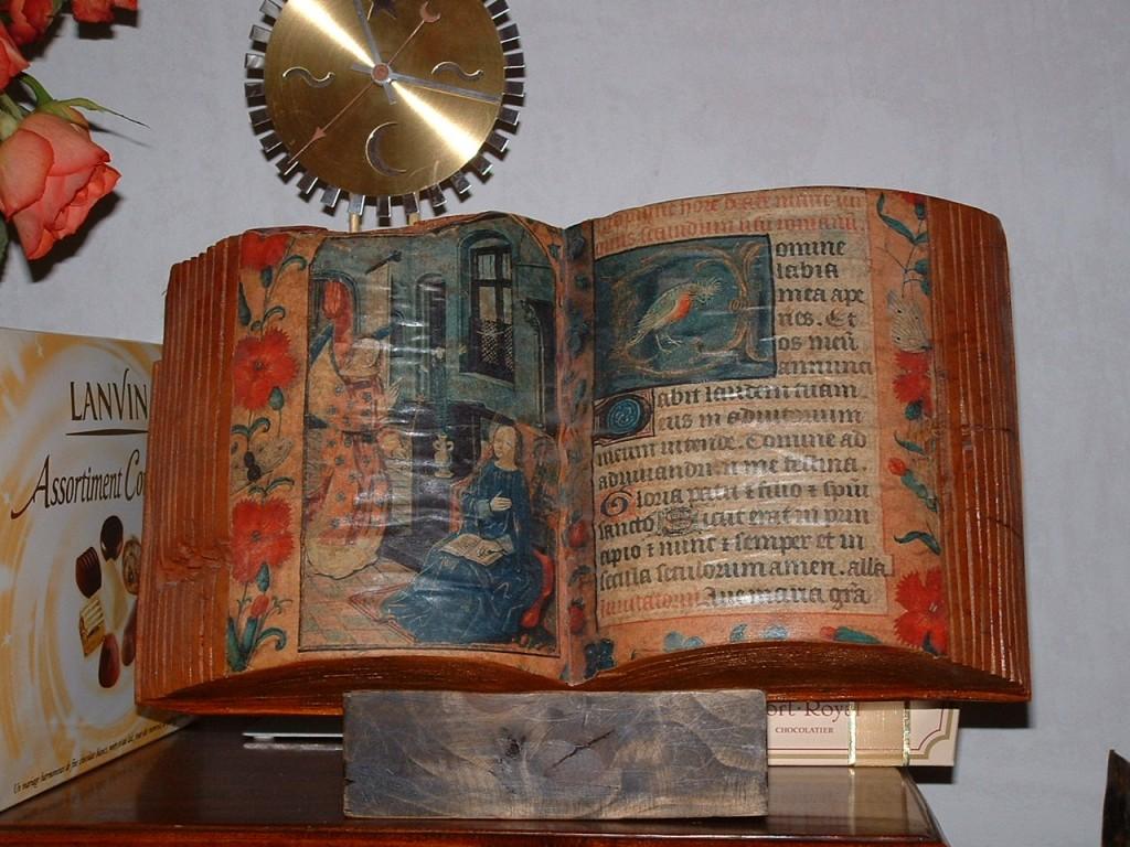 Livre peint 2003 40x35