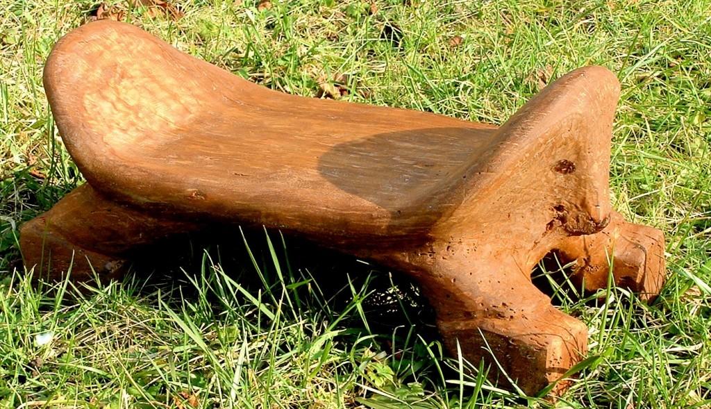 Petit banc chien 2006 50x25