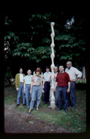 L'atelier du centre d'arts plastiques de Sarcelles 1991