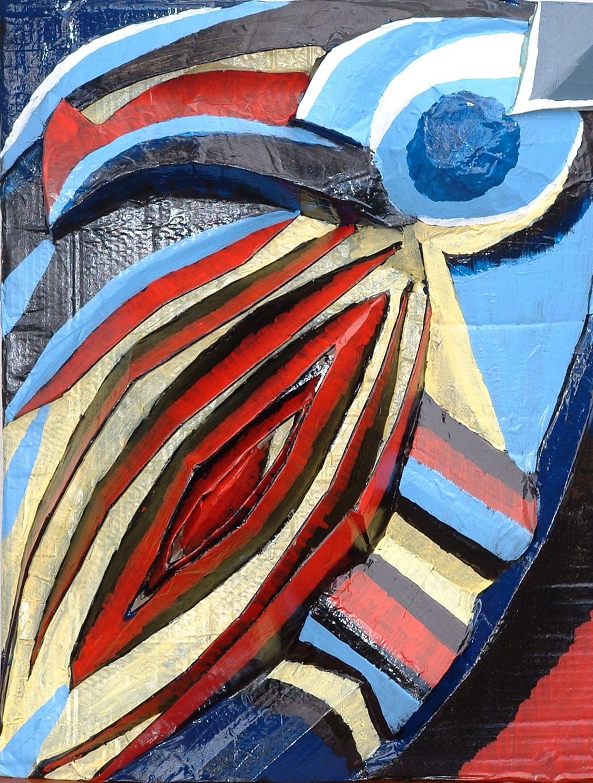 Peinture relief 2006 60x50
