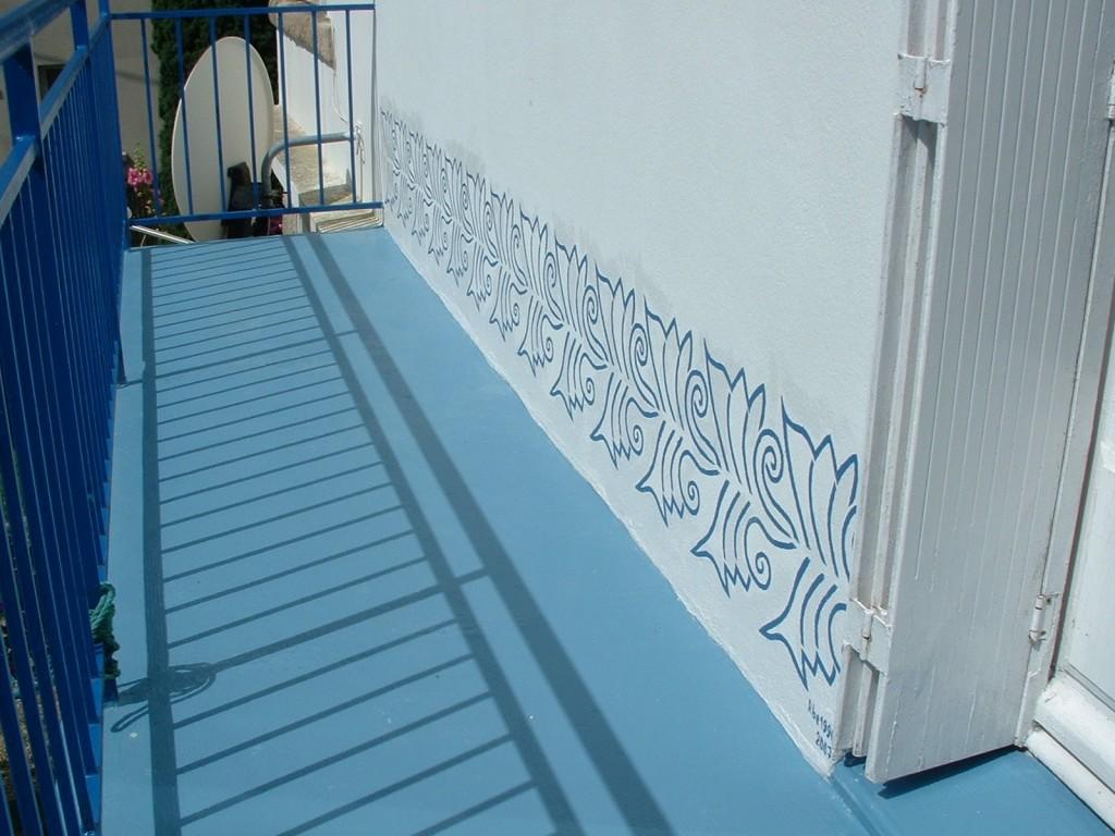 Frise 2007 peinture murale